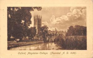 Oxford, Magdalen College (A.D. 1458) 1913