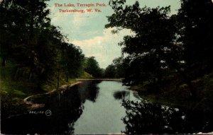 West Virginia Parkersburg Terrapin Park The Lake 1914
