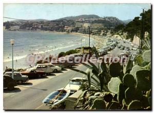 Postcard Modern BANDOL Lido beach