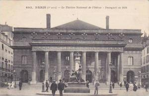 France Paris Le Theatre National de l'Odeon