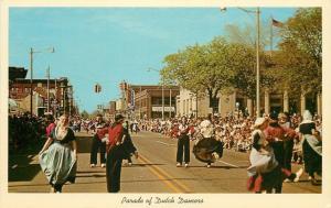 Holland Michigan~Parade Of Dutch Dancers~1954 PC