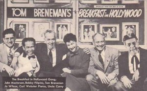 California Hollywood Tom Brennan's Breakfeast In Hollywood Gang