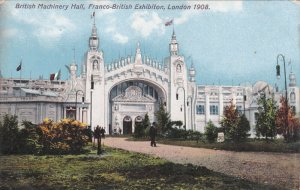 TUCK #3524: LONDON, England, United Kingdom; British Machinery Hall, Franco-B...