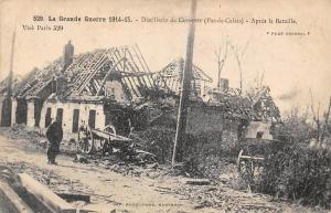 Grande Guerre WWI 1914-15 Distillerie Cuinchy (Pas-de-Calais) Apres la Bataille