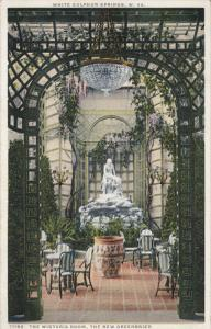 WHITE SULPHUR SPRINGS, West Virginia; The Wistaria Room, The New Greenbriar, ...