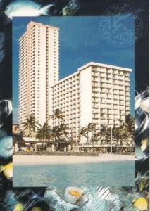 Hawaii Honolulu Pacific Beach Hotel Beachfront Waikiki
