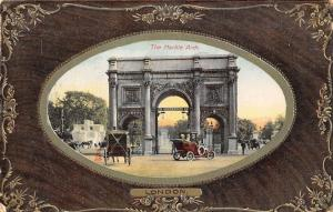 London The Marble Arch Voiture Auto Cars 1909