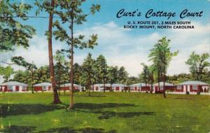 Curts Cottage Court Rocky Mount North Carolina 1955