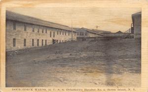 Staten Island New York~US Debarkation Hospital No 2~Double Deck Wards~WWI Era