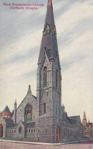 Exterior, First Presbyterian Church,  Portland,  Oregon,   00-10s