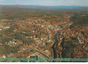New Hampshire Peterborough Aerial View