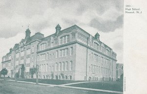 NEWARK, New Jersey, 1900-1910's; High School