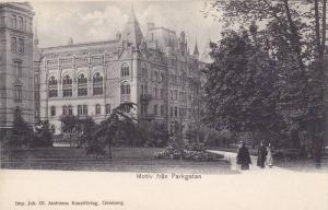 Motiv fran Parkgarten , GOTEBORG , Sweden. 1890s