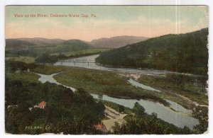 Delaware Water Gap, Pa., View up the River