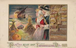 Puritan Relief Ship Thanksgiving Day , Mass. , 1900-10s