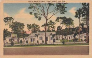 Florida Holly Hill Royal Palm Tourist Court