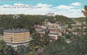 Showing Basin Park and The Crescent Hotels Eureka Springs Arkansas