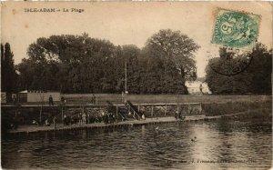 CPA L'ISLE-ADAM - La Plage (519619)