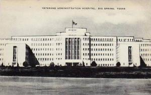 Texas Big Springs Veterans Administration Hospital Artvue