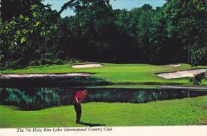FLORIDA, PU-1977; The 7th Hole, Pine Lakes International Country Club