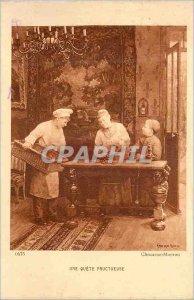 Old Postcard A Fruitful Quete Chocarne Moreau