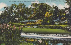 Jaenicke Gardens at Swinney Park - Fort Wayne IN, Indiana - Linen
