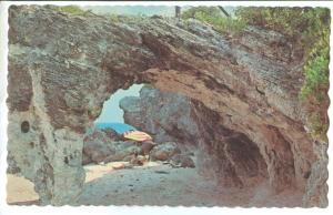 Natural Arches, Tucker's Town, Bermuda, unused Postcard