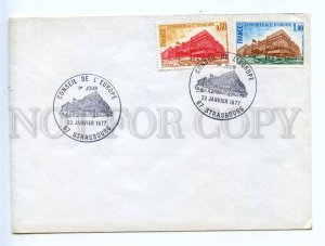 418005 FRANCE Council of Europe 1977 year Strasbourg European Parliament COVER