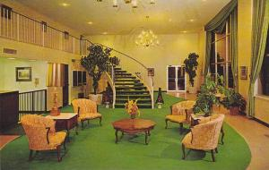 Interior View, Lobby and Stairs of the Ramada Inn, Memphis, Tennessee, 40-60's