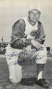 Milt Pappas Cincinnati Reds Baseball  Autograph Advertising Postcard