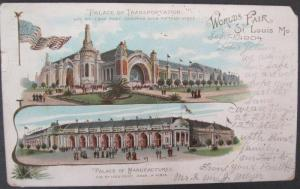 Palace Of Manufacturers Worlds Fair St Louis 1904