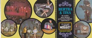 SPARKS , Nevada , 60-70s; Bertha & Tina Appearing at the Nugget