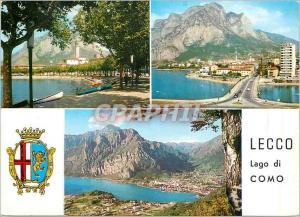 Postcard Modern Lecco Lake Como