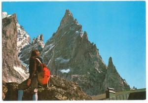 Italy, COURMAYEUR, unused Postcard