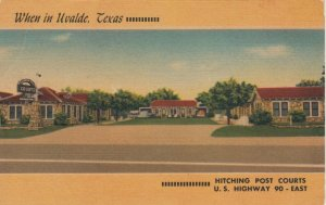 UVALDE , Texas , 1930-40s , Hitching Post Courts