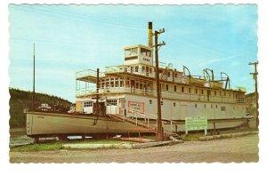 S S Keno, Stern Wheeler Passenger Boat, Yukon River, Dawson City