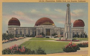 LOS ANGELES , California , 1930-40s ; Griffith Park , Planetarium