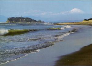 Enoshima Island Shichirigahama Beach Japan