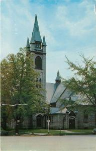 Granville Ohio~First Baptist Church 1965