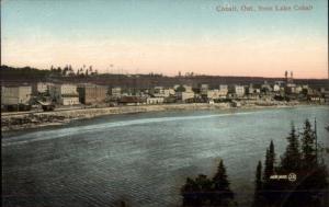 Cobalt Ontario ON From Lake Cobalt c1910 postcard