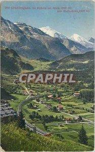 Old Postcard Clamart Lotsdibergbahn I put Mithotz Alteis 3636m 3497m und Rind...