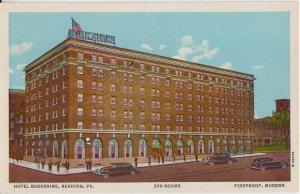 READING PA - HOTEL BERKSHIRE street view / 1930s / DIFFERENT - still open