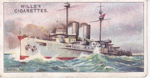 Cigarette Card Wills The World's Dreadnoughts (1910) No 18