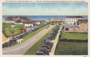 CAROLINA BEACH, North Carolina, 30-40s; Center of City, A Popular Bathing Resort