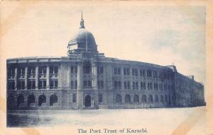 Pakistan The Port Trust of Karachi