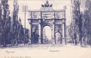 Siegesthor, MUNCHEN (Bavaria), Germany, 1900-1910s
