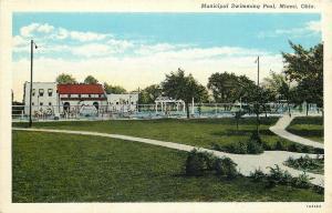 Miami Oklahoma~Municipal Swimming Pool~1920's~Postcard
