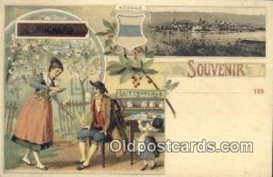 Suchard  Advertising Postcard Post Card  Suchard