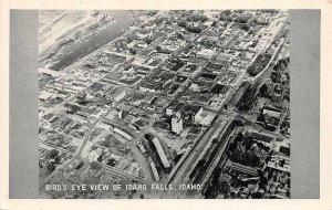 IDAHO FALLS ID Bird's Eye View Vintage Postcard ca 1920s