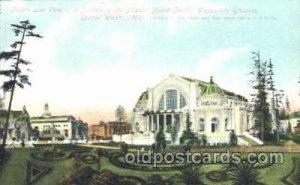 1909 Alaska - Yukon Pacific Exposition Seattle Washington, USA Postcard Post ...